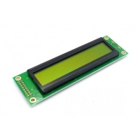 Display LCD 20x02 Verde sem Luz de Fundo (Back Light) WH-2002A-NYG-JT