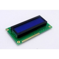 Display LCD 16x02 Azul com Luz de Fundo (Back Light) WH-1602A-TMI-JT