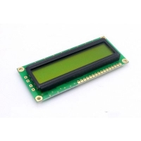 Display LCD 16x01 Verde sem Luz de Fundo (Back Light) WH-1601A-NYG-JT