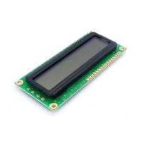 Display LCD 16x01 Verde sem Luz de Fundo (Back Light) WH-1601A-NGG-JT