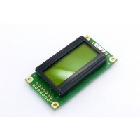 Display LCD 08x02 Verde com Luz de Fundo (Back Light) WH-0802A-YYH-JT