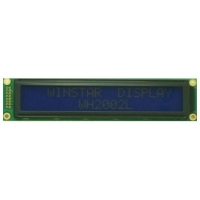 Display LCD 20x02 Big Number Verde com Luz de Fundo (Back Light) WH-2002L-YYH-JT