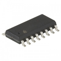 Circuito Integrado SMD Porta Lógica CD4051BT SOIC16 CIs de Chave Multiplexadora 8-Channel Analog